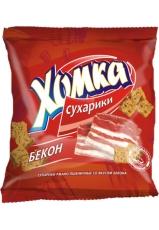 Сухарики «Хомка» с беконом